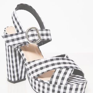 Dolls Kill So Seductive Gingham Heels